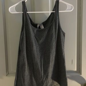 H&M gray tank top